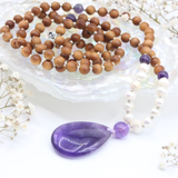 Beloved Mama Mala - Tiny Devotions Gemstone 108 Mala Beads Intentional Jewelry
