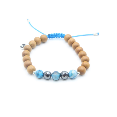 Communication Mala Bead Bracelet - Mala Beads Meditation Accessories and Yoga Jewelryby Tiny Devotions