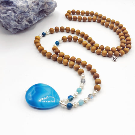 Guidance Mala Bead Necklace - Mala Beads Meditation Accessories and Yoga Jewelryby Tiny Devotions