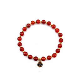 Be Courageous Mala Bead Bracelet