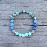 Chakra Cleansing Mala Bead Bracelet - Tiny Devotions Gemstone 108 Mala Beads Intentional Jewelry