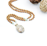Charmed Mala - Tiny Devotions Gemstone 108 Mala Beads Intentional Jewelry