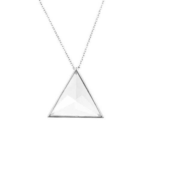 Clarity Necklace - Silver