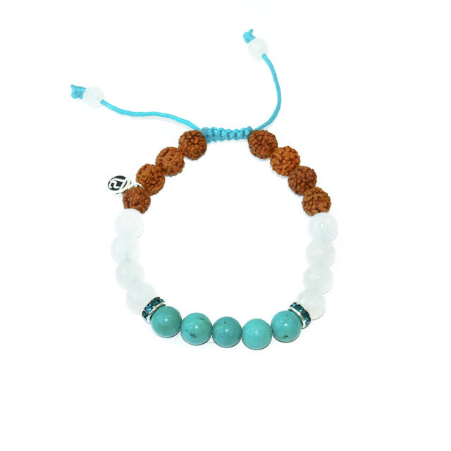 The Dolphin - Mala Beads Meditation Accessories and Yoga Jewelry by Tiny Devotions