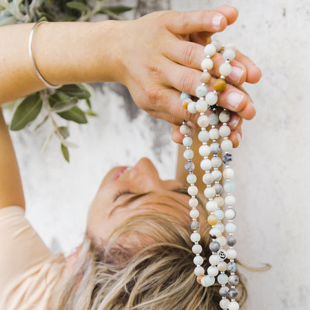 Faith Mala - Mala Beads Meditation Accessories and Yoga Jewelryby Tiny Devotions