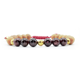 Balance Mala Bracelet - Tiny Devotions Gemstone 108 Mala Beads Intentional Jewelry