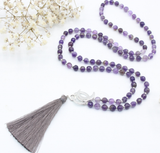 Transformation Silk Tassel - Mala Beads Meditation Accessories and Yoga Jewelryby Tiny Devotions