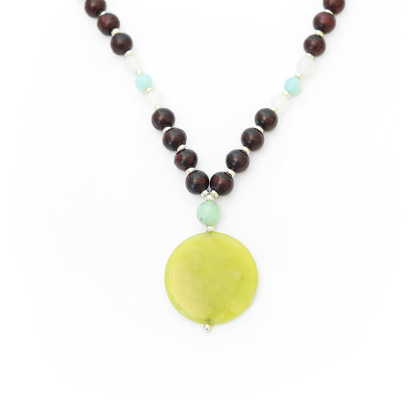 Green Jade Mini Mala - Mala Beads Meditation Accessories and Yoga Jewelryby Tiny Devotions