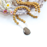 Grounding Mala - Mala Beads Meditation Accessories and Yoga Jewelryby Tiny Devotions