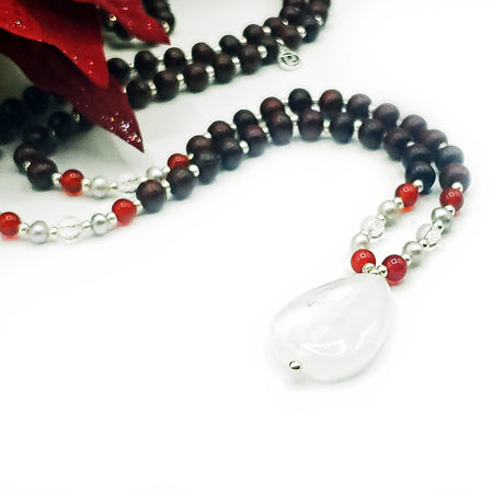 Holiday Mala - Limited Edition - Mala Beads Meditation Accessories and Yoga Jewelryby Tiny Devotions
