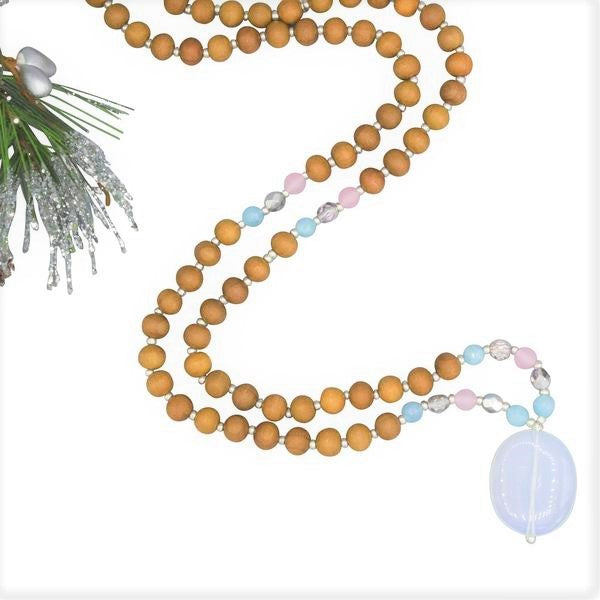 Joy Mala - Tiny Devotions Gemstone 108 Mala Beads Intentional Jewelry