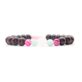 Let Love In Mala Bracelet - Tiny Devotions Gemstone 108 Mala Beads Intentional Jewelry