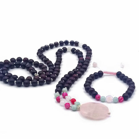 Let Love In Mala - Mala Beads Meditation Accessories and Yoga Jewelryby Tiny Devotions