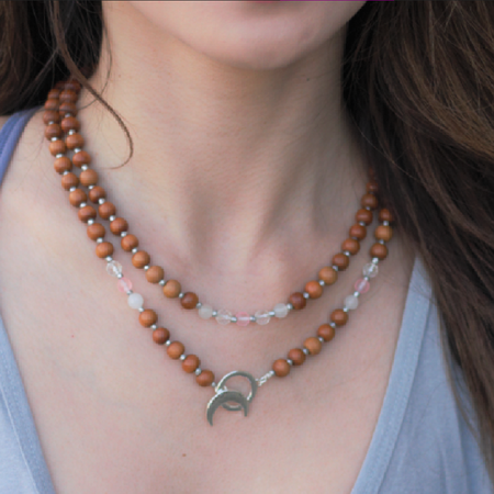 Limitless Love Mala - Mala Beads Meditation Accessories and Yoga Jewelryby Tiny Devotions