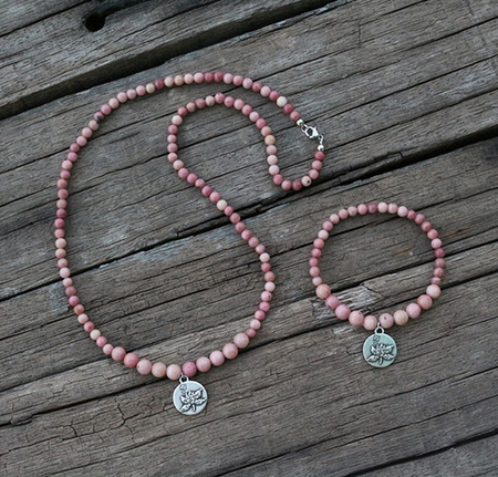 Enlightenment Mala Bracelet - Mala Beads Meditation Accessories and Yoga Jewelryby Tiny Devotions