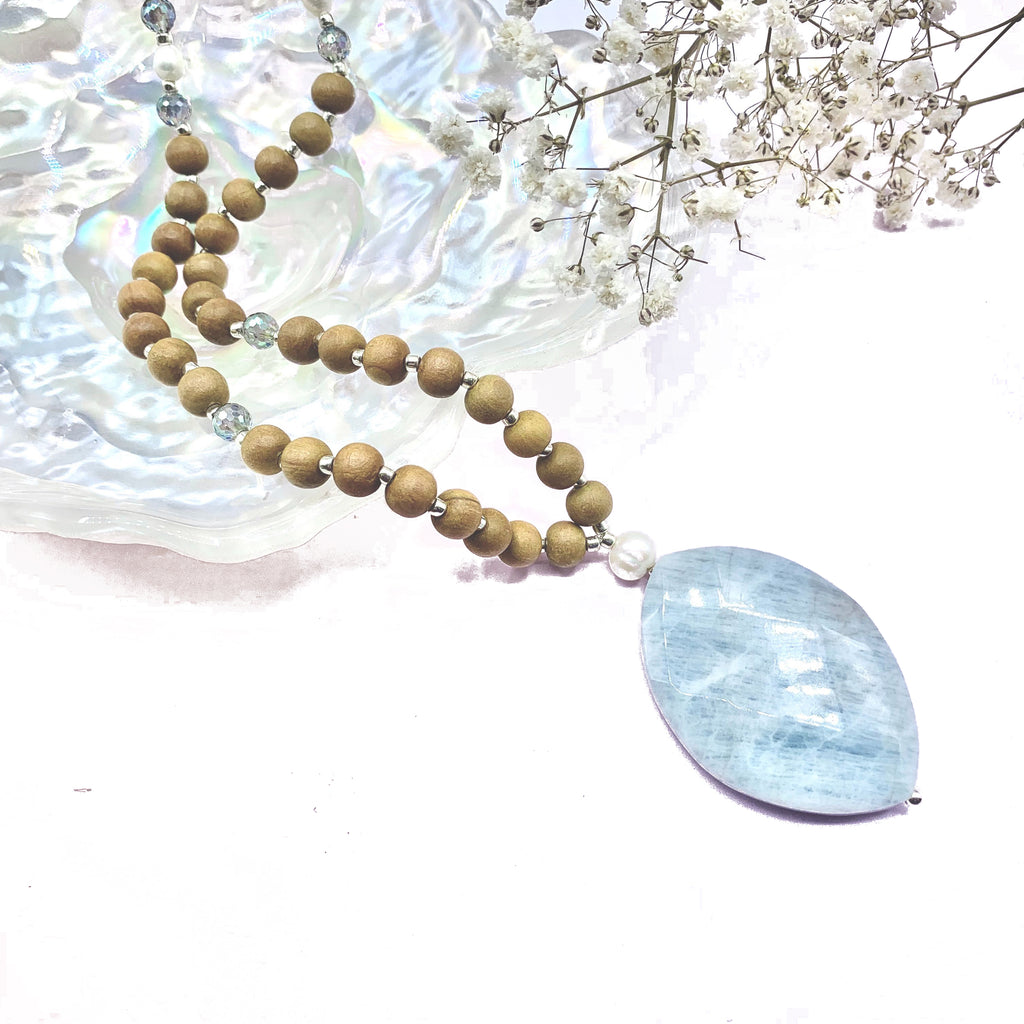 Peace of My Mind - Limited Edition - Tiny Devotions Gemstone 108 Mala Beads Intentional Jewelry
