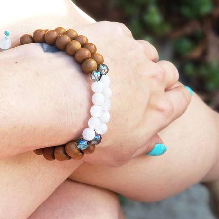 Soul Star Stack - Mala Beads Meditation Accessories and Yoga Jewelryby Tiny Devotions