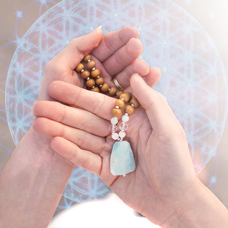 The Lightworker Mala - Mala Beads Meditation Accessories and Yoga Jewelryby Tiny Devotions