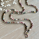 Tourmaline Limitless Mala - Mala Beads Meditation Accessories and Yoga Jewelryby Tiny Devotions