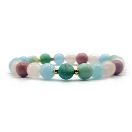 True Love Mala Bead Bracelet - Tiny Devotions Gemstone 108 Mala Beads Intentional Jewelry
