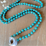 Turquoise Limitless Mala - Mala Beads Meditation Accessories and Yoga Jewelryby Tiny Devotions