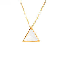 Clarity Necklace - Gold