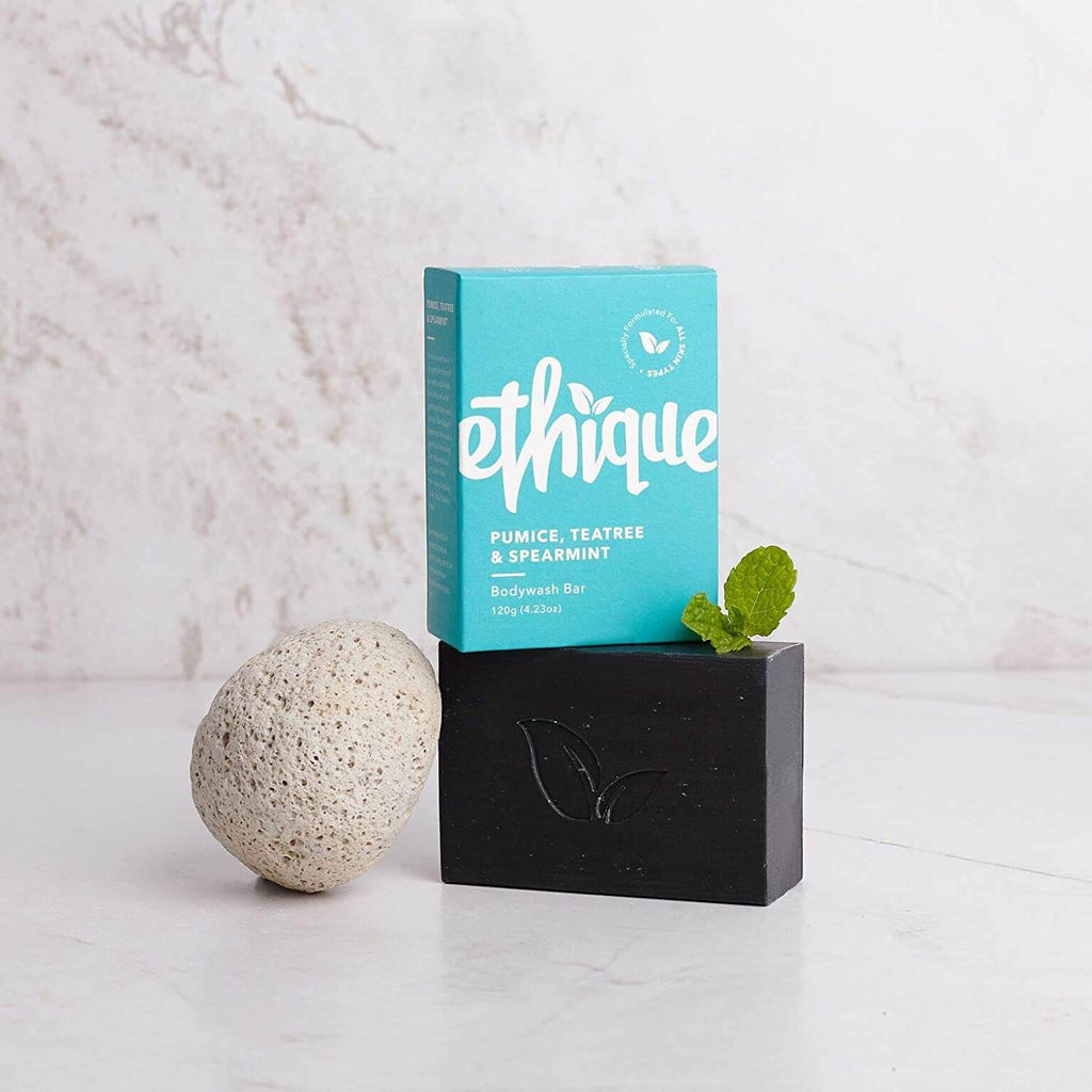 Ethique - 「Pumice, Tea Tree and Spearmint 光滑溜溜」沐浴芭(120g)