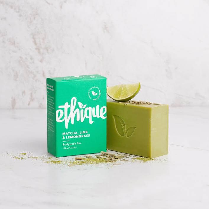 Ethique - 「Matcha, Lime & Lemongrass」沐浴芭  (120g)