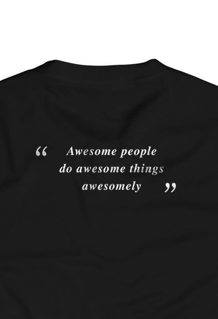 Awesome people do awesome things awesomely