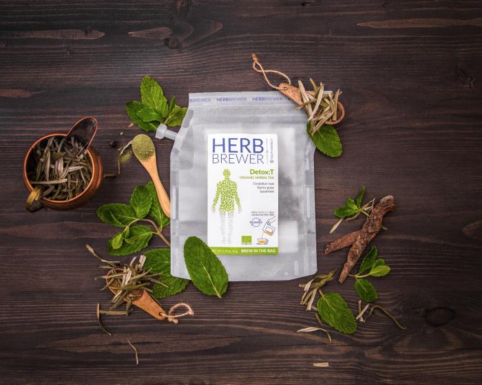 Tea Pharmacy Herbbrewer – Detox:T Organic Herb Tea (7 Pcs)
