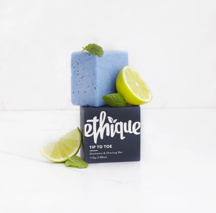 Ethique Hair Care – Tip-to-Toe (Shampoo & Shaving Bar)