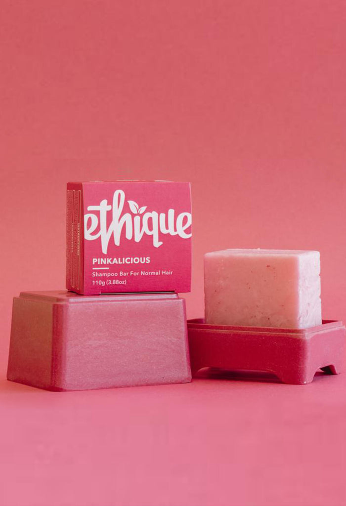 Ethique Pinkalicious Shampoo bar for normal hair (110g)