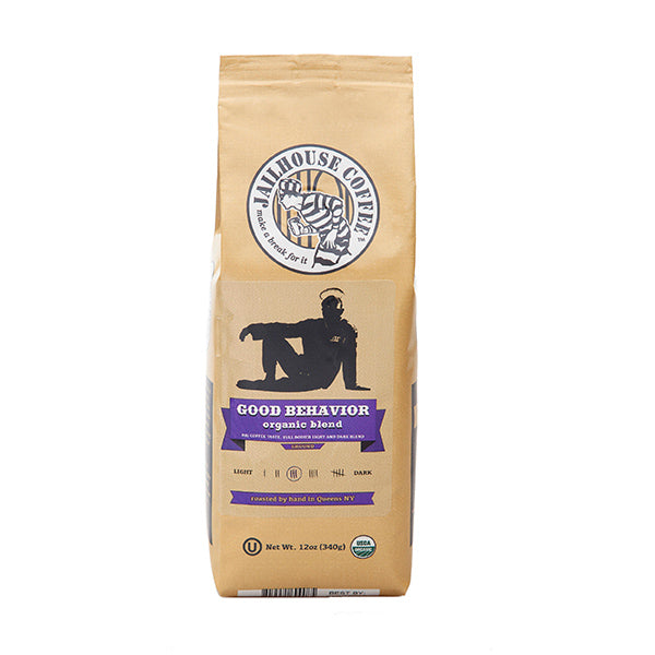 Jailhouse Good Behaviour Organic Medium Roast Coffee (12oz / 340g)