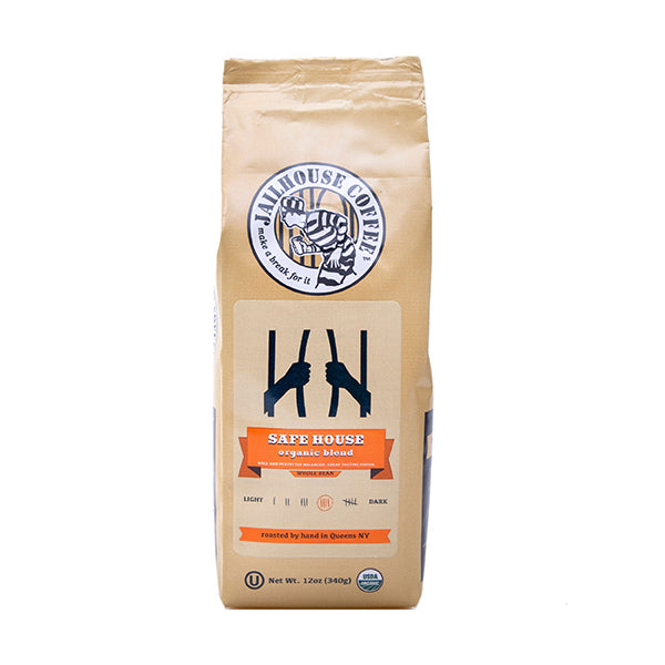 Jailhouse Safe House Organic Blend Dark Roast Coffee (12oz / 340g)