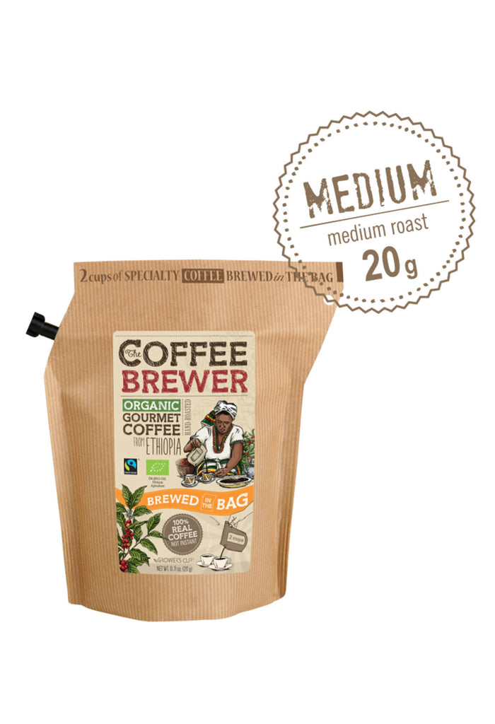 The Coffee Brewer - Organic Gourmet Coffee from Ethiopia
