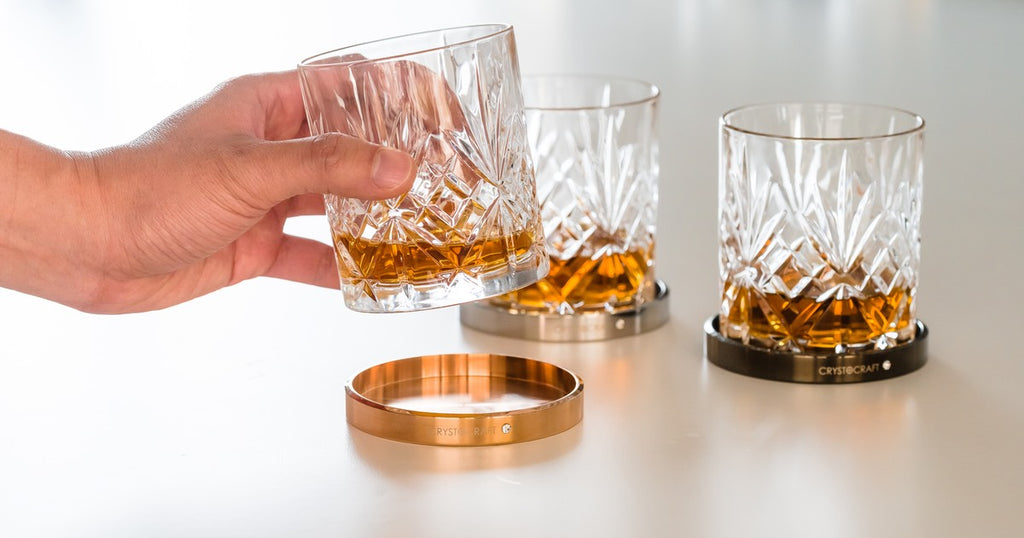SMOOTH-SPIN Whiskey Glass