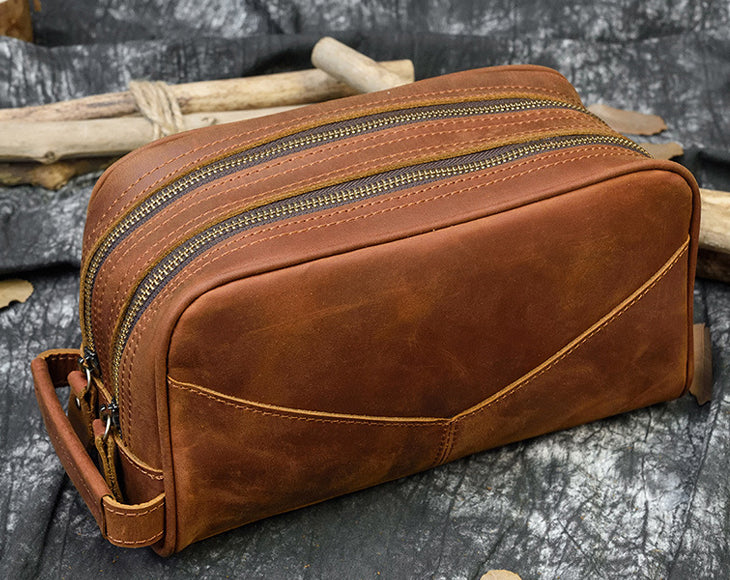 Groomsmen Gift Toiletry Bag Men Dopp Kit Travel Bag