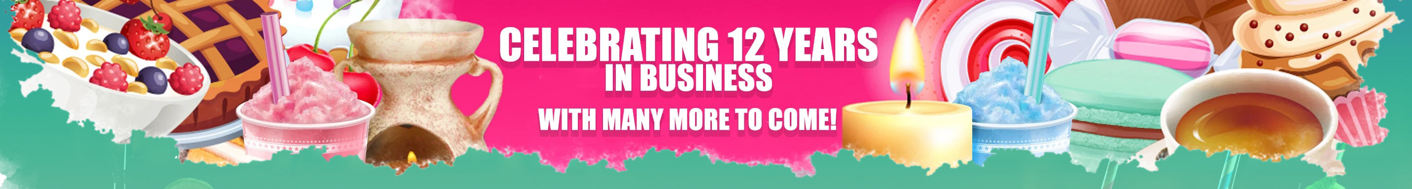 Celebrating 12 years in business and looking forward to many more!
