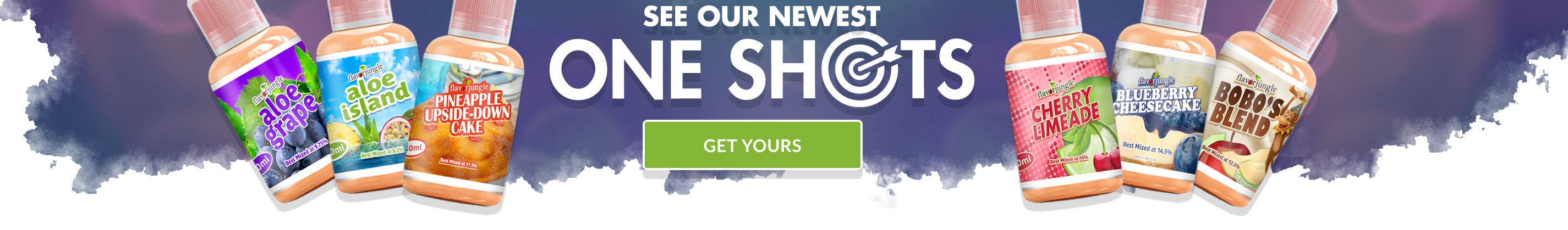 See our newest One Shot Concentrates