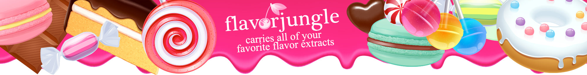 We carry all the top flavor concentrates for DIY recipes