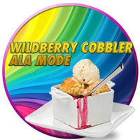 Wild Berry Cobbler Ala Mode by Flavor West