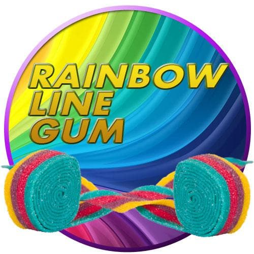 Rainbow Line Gum by Flavor West
