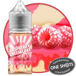 Raspberry Cheesecake One Shots