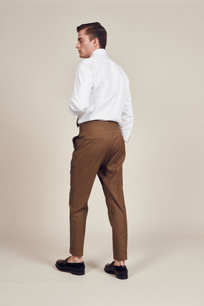 Dark Brown vintage trouser