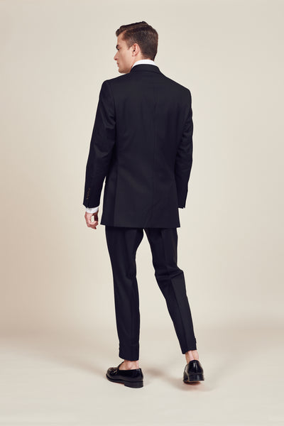 Black Regular British Suit