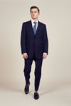 Blue Classic flip pocket suit