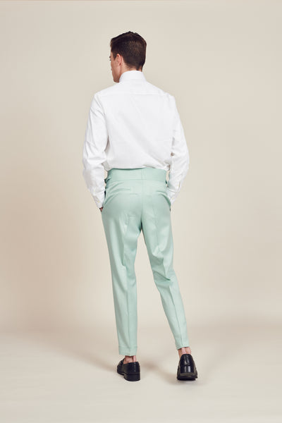 Light Green Vintage Trouser