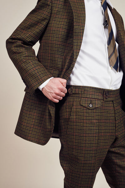 Classic Check Green Trouser