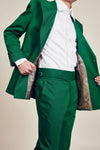 Green  Designer Trousers