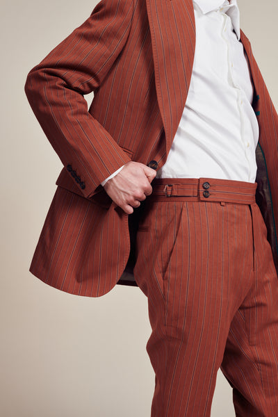 Orange Vintage Trousers